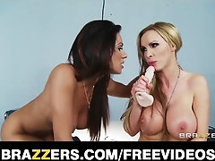 Imperious cop Kirsten Price lures and drills her huge-chested suspect