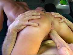 Mature woman with irresistible tits rides a cock neverendingly