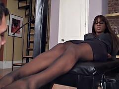 Black mistress white