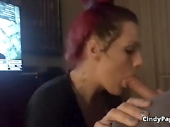 Blow-Job From This Trashy Prostitute