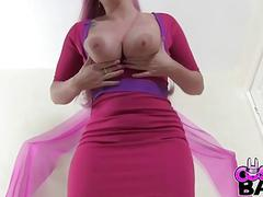 COSPLAY BABES Princess Bubblegum has huge tits