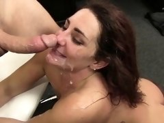 WANKZ- Sexy Savannah Seduces Her New Boss