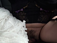 nasty mature slut takes it in the ass