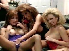 Three Vintage Lesbians Teases Us In Classic Porn Film