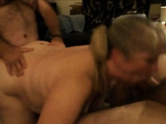 Mature Amateur Slut in Group Sex Encounter