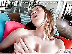 Solo sweetheart Judy Smile masturbates