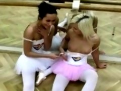 Horny ballet girls