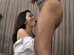 Kinky Asian slut gets her hairy slit dicked hard