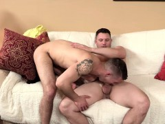 Travis James rims and fucks Chris Harder asshole