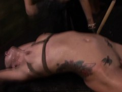 Slaves clit suctioned