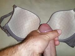 Wife's Greyish Bra