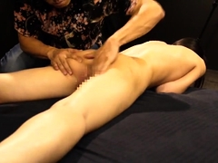 Asian slut enjoys a frenzy of sex toys and intense orgasms