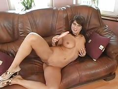 Explosive fucking for busty playgirl