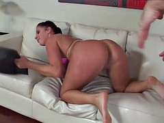 gianna on the couch