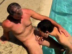 Gay porn Brett Anderson is one fortunate daddy, he's met up
