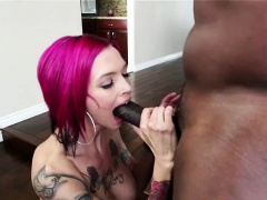 Busty attractive Anna gets banged hard