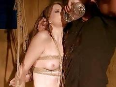 Slavegirl gets humiliated and punished pretty hard