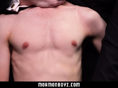 MormonBoyz - Teen Gets Barebacked By Masked Daddy