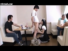 Japanese Maid Blowjobs