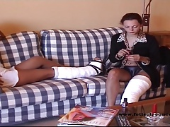 Fetish-Concept presents: Gaby und Anastasia in Gips