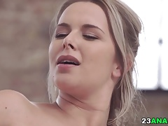 Sensual anal sex after massage with Nikki Dream