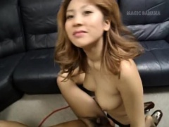 Busty Yuuko Imai enjoys cock on cam