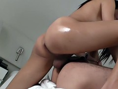Transvestite emma fucks a tight ass