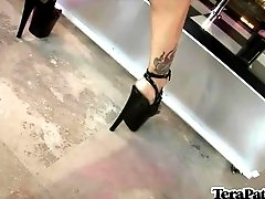 Tera And Lacie - Pole Dancing