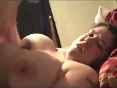 Big tits fat girl gets her pussy punished with a dicking