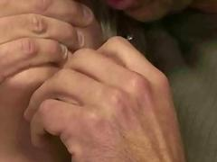 Busty blonde submissive bitch loves getting roped, toyed and fucked