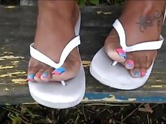 MILF Chelsea Blue & Pink Toes