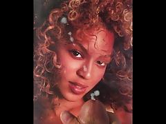 Beyonce Cum Tribute #2