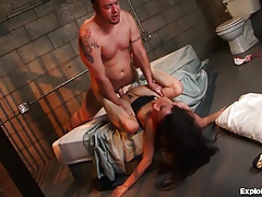 Hot Girlfriend Gets Fucked In Jail!