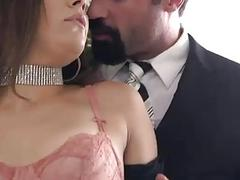 Bound slut Kimber Woods takes it in the ass BDSM