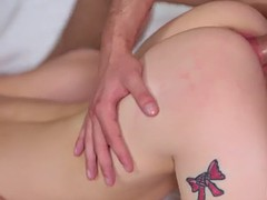 nina nirvana asks her stepbro's laptop to masturbate but he has a better idea