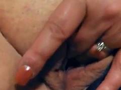 Chubby white slut dildo squirt Muiti fav