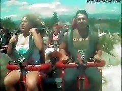 Roller Coaster Titties Falls Out