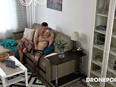 czech milf funcking at home - hidden spy cam