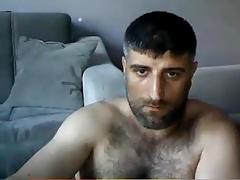 Masturbating Turkey-Turkish Bear Volkan Ist. Shows Big Dick