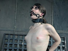 slave slut loves being toyed while bound