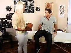 Naughty Masseuse Gives Happy Ending