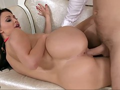 bonerrific euro babe aletta ocean makes out with one more fucker