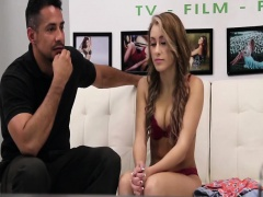 Innocent blonde teen Marina Angel is in the wrong casting