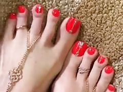 Beautiful Feet Red