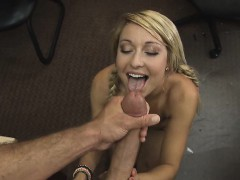 Pretty Blonde Fucked And Facial Cumshot In Pawn Shop