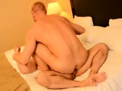 Amazing gay scene The Boss Gets Some Muscle Ass