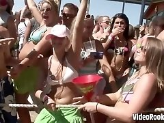 Outrageous dorm girls video taped