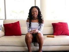 Ebony amateur pov rides