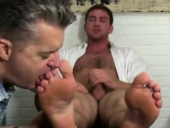 Gay sex college boys feet Connor Gets Off Twice Being