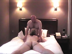 32yo British Ex-GF Hotel fuck & creampie with queef!